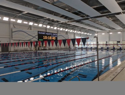 Are you planning to visit the Elkhart Aquatic Center for  a swim meet soon?