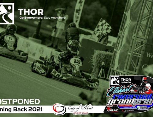 Thor Industries Elkhart Riverwalk Grand Prix Postponed until 2021 Elkhart, IN